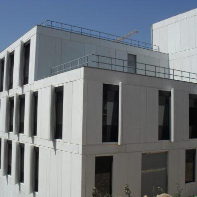 Paineis betao - Hospital Santos Silva - V.N. Gaia