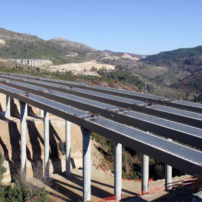 Vigas Caixao - A7 - Viaduto 5